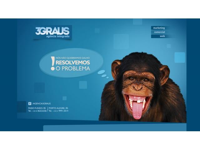 Vaga de Estágio/Emprego para desenvolvedor Web - Empresa 3GRAUS