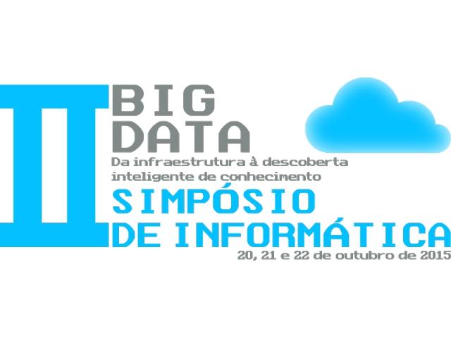 Alteração das datas de apresentação dos trabalhos no II Simpósio de Informática