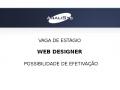 Oportunidade para Web Designer
