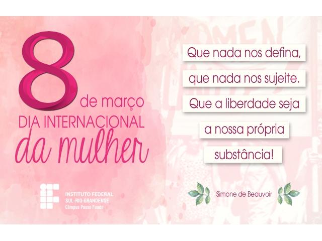 Homenagem às Mulheres