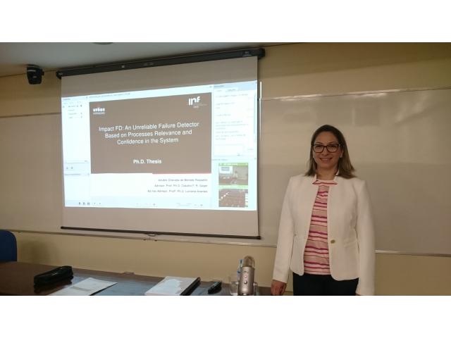 Professora Anubis Graciela de Moraes Rossetto defende tese de doutorado