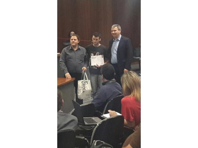 Aluno do TSPI é Premiado na JIC 2017